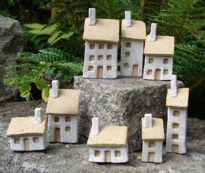 miniature clay houses - Yahoo! Image Search Results