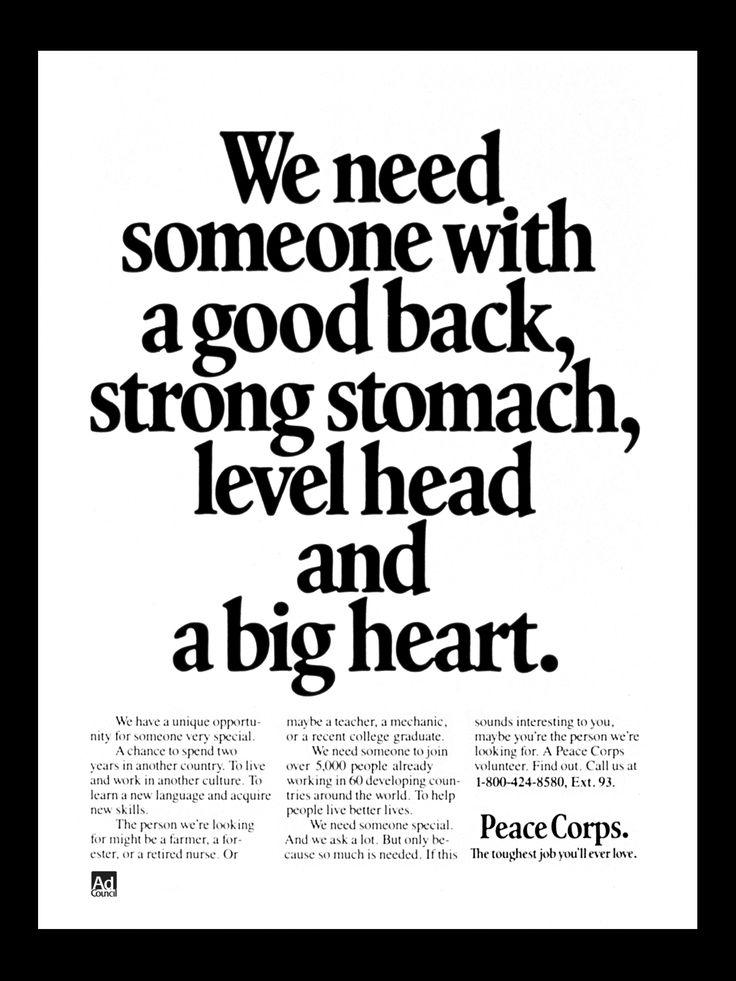 30 best Print Advertising 1960s images on Pinterest