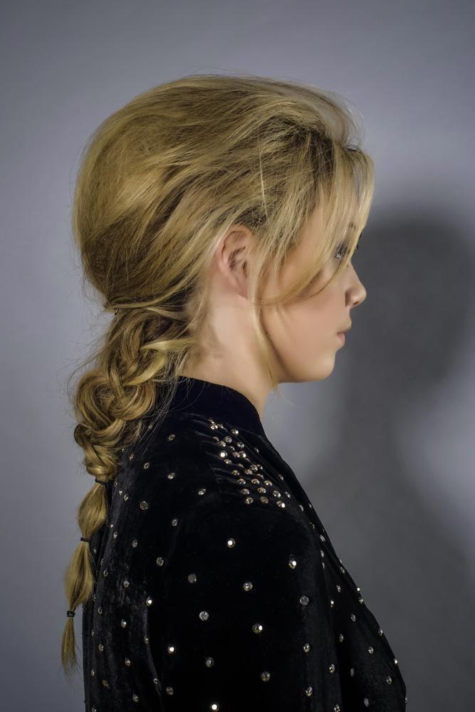 www.estetica.it |  Hair: Sally Montague Hair Group Art Team Styling: Emmanuelle Montague-Sayers Make up: Sally Montague Hair Group Make up Artist Photo: Ewan Mathers