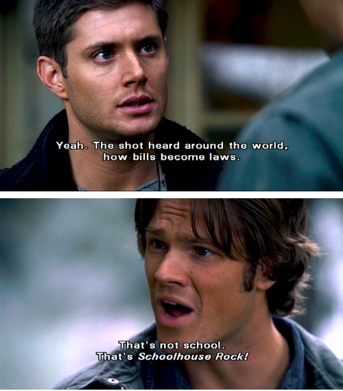 Supernatural    Well, that's what I remember most clearly. I think this was the Croatoan episode.