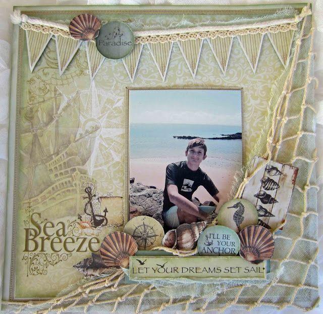 Couture creations - Sea Breeze - Guest Designer Katrina Thompson
