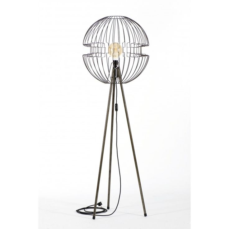Lampa z drutu stojąca Tripod Imperium - JABBA Design
