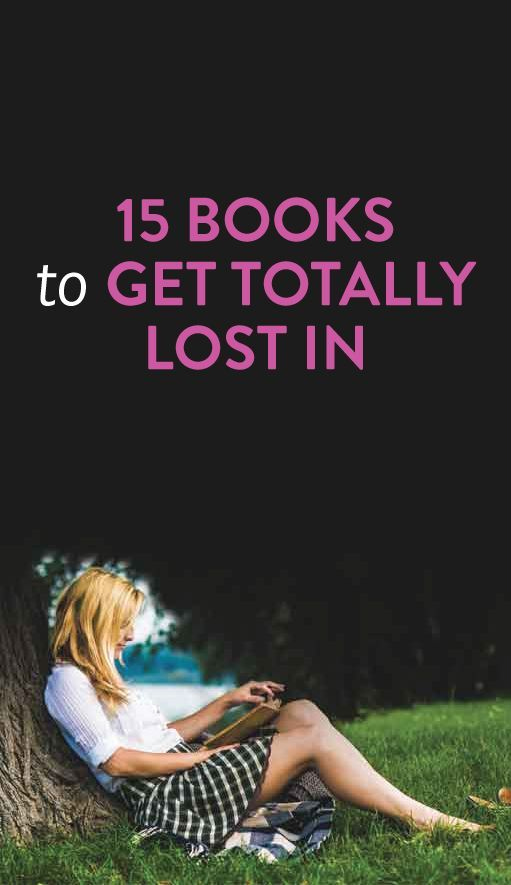 15 books to get lost in