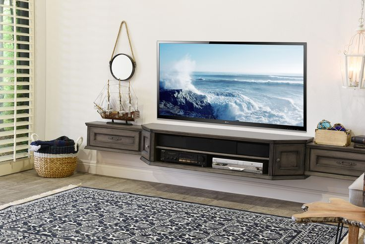 17 best ideas about floating tv stand on pinterest