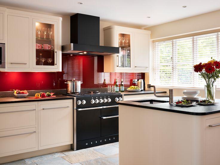 harvey jones linear kitchen painted in dulux earthen