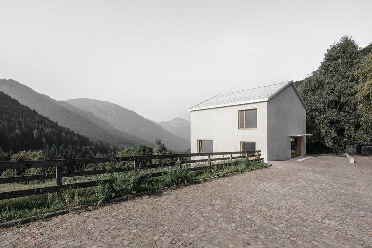 Das Haus am Hörmannweg des Südtiroler Architekten Daniel Ellecosta