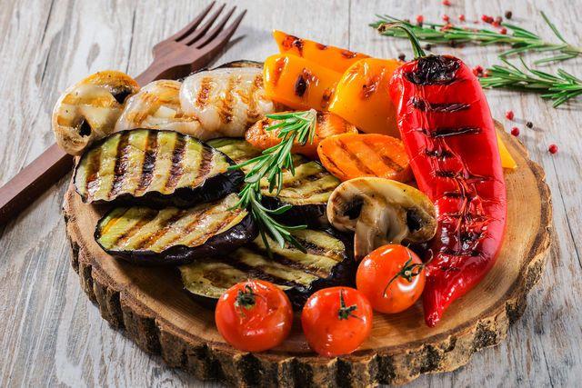 Овощи, приготовленные на гриле, сохраняют свои полезные качества
