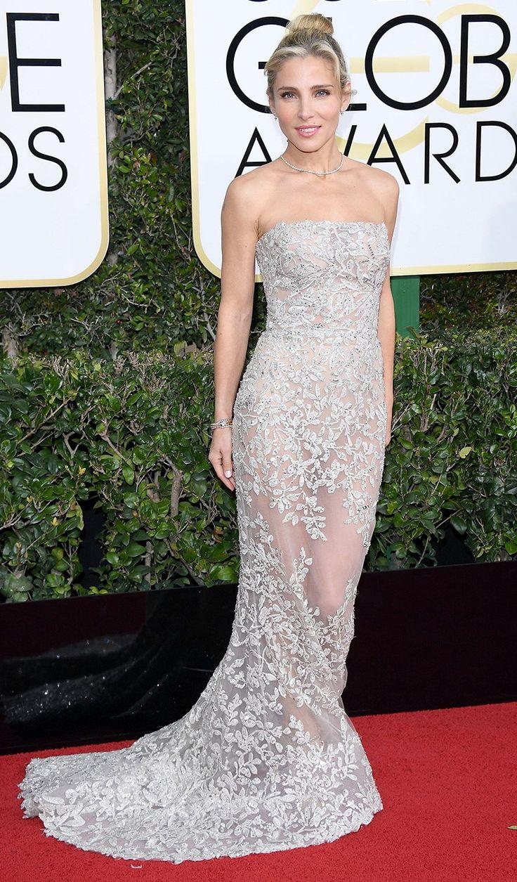 Эльза Патаки на церемонии вручения наград премии «Золотой глобус» в Лос-Анджелесе, 08 января 2017 г.