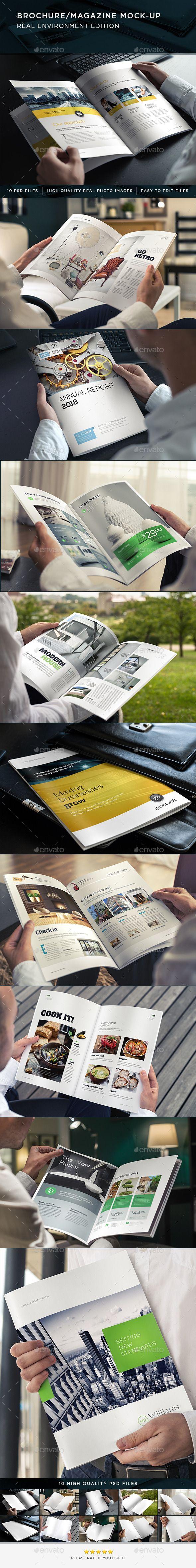 Brochure / Magazine Mock-Up | #brochuremockup #magazinemockup #mockup | Download: http://graphicriver.net/item/brochure-magazine-mockup/8836441?ref=ksioks