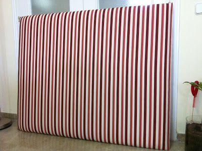So Glittering: Hacer un cabecero tapizado; tutorial paso a paso