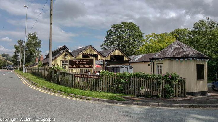 Welshpool & Llanfair Railway The Station, Llanfair Caereinion, Welshpool, Powys,Wales. #railway