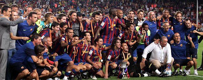 FC Barcelona Campeón de la Supercopa de España 2009