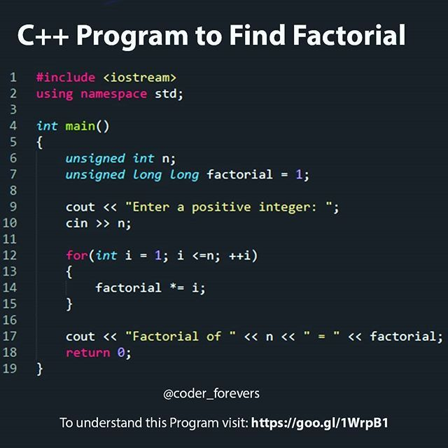 Write a factorial program in c top thesis statement writer site au