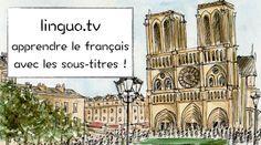 LINGUO.TV (A2) Apprenez le français avec des vidéos sous-titrés récentes de la télé française. #A2 #compréhension_orale