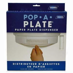 POP-A-PLATE WHITE | Mid America RV Parts
