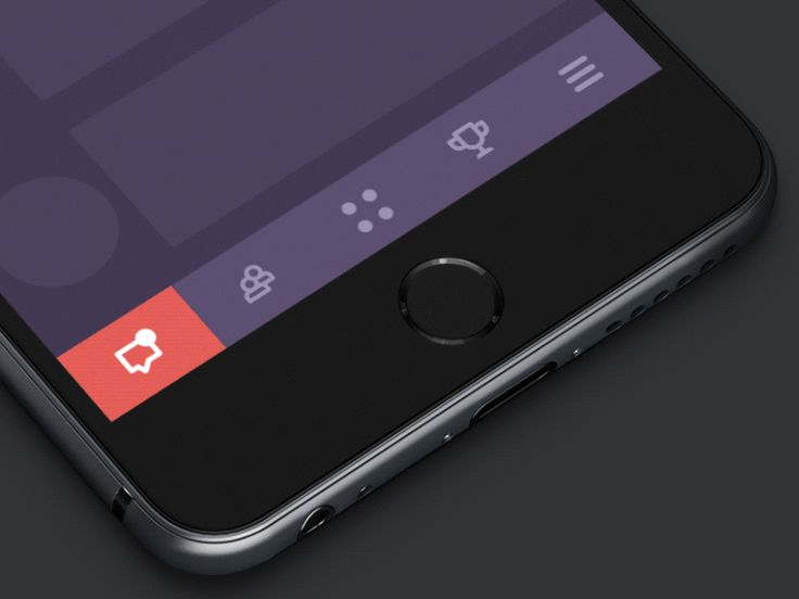 GIF of the Tapbar Interactions