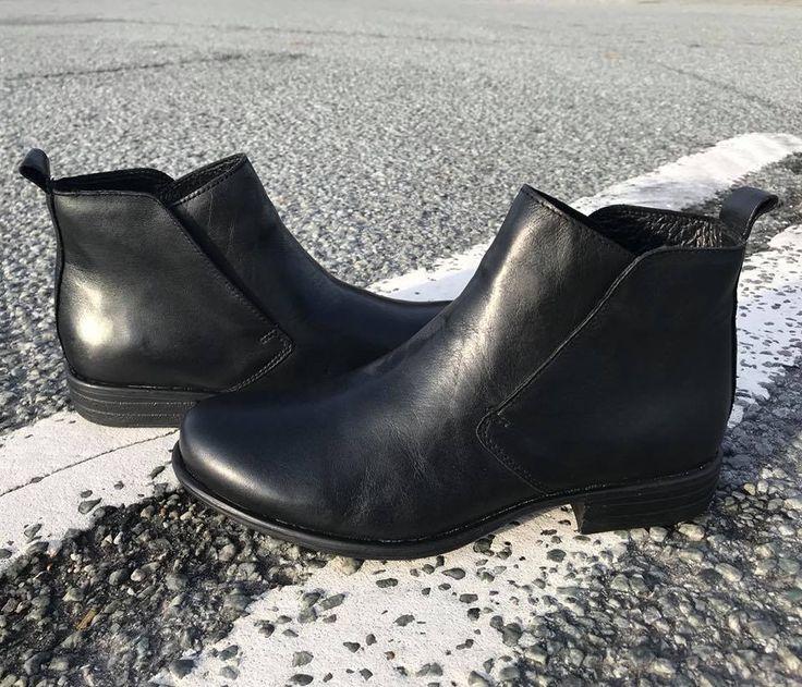 SHOE//DESIGN skindstøvler med elastik i skaftet. Havanna Shoes