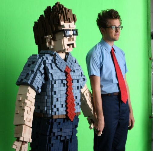 awesome!8Bit Gary, Halloween Costumes, Pixel Costumes, 8Bit Costumes, 8Bit Pixel, 8Bit Art, Costumes Ideas, Halloween Ideas, 8 Bit Costumes