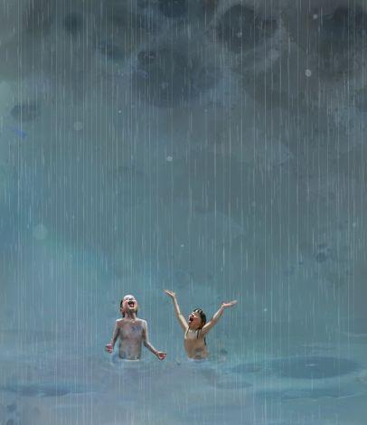 Sommerregn av Lisa Aisato
