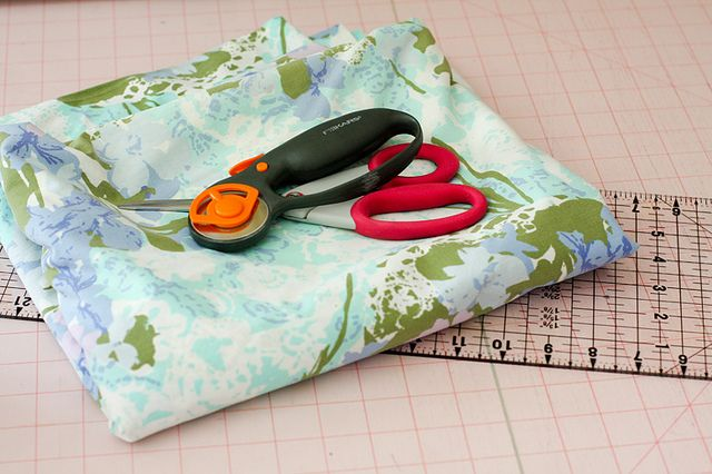 Tutorial: How to cut up a Vintage Sheet by jenib320, via Flickr