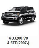 Toyota > Toyota 4x4 Parts > Toyota Land Cruiser Parts > VDJ200 V8 4.5TD(2007-)