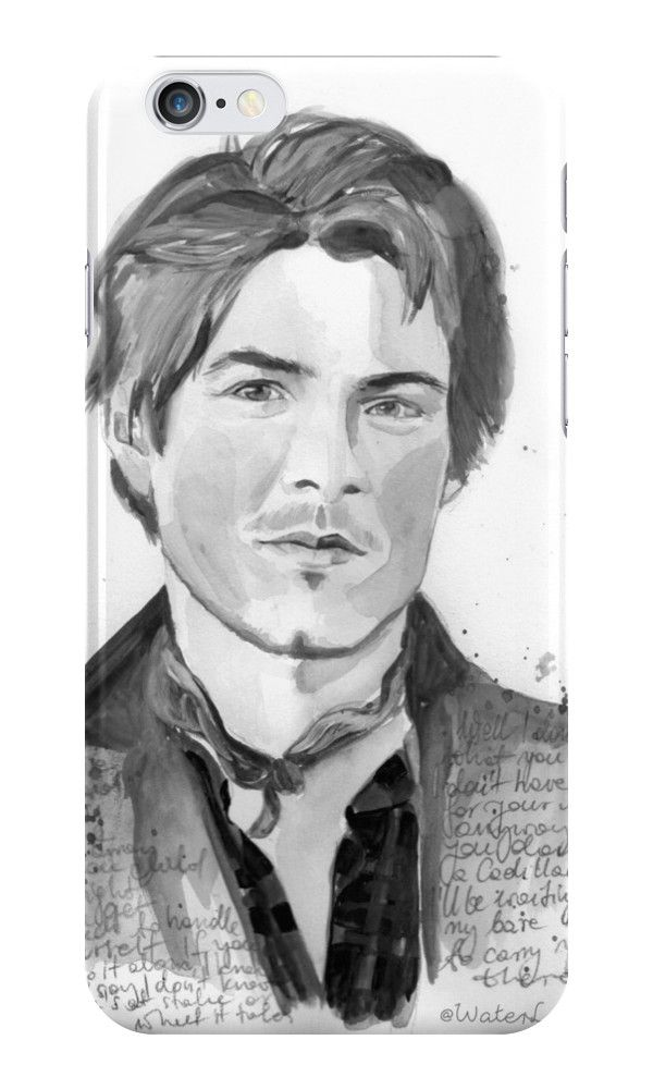 Taylor Hanson by Waterlyrics iPhone Wallets, Cases & Skins by WaterLyrics | Redbubble