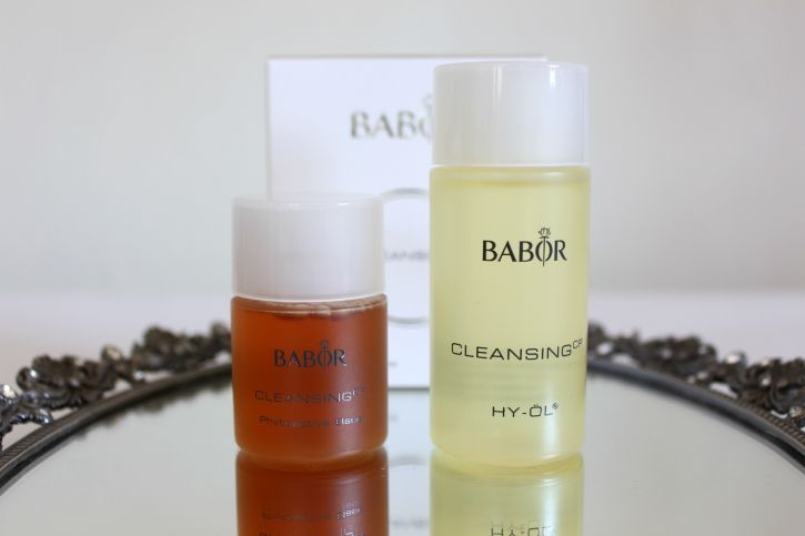 The Glam Green Girl: [REVIEW]: Babor HY-ÖL & Pyotoactive Cleansing