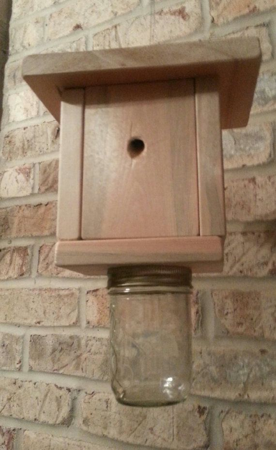 Carpenter Bee Trap Insect Natural No By HouseofSheib 1799