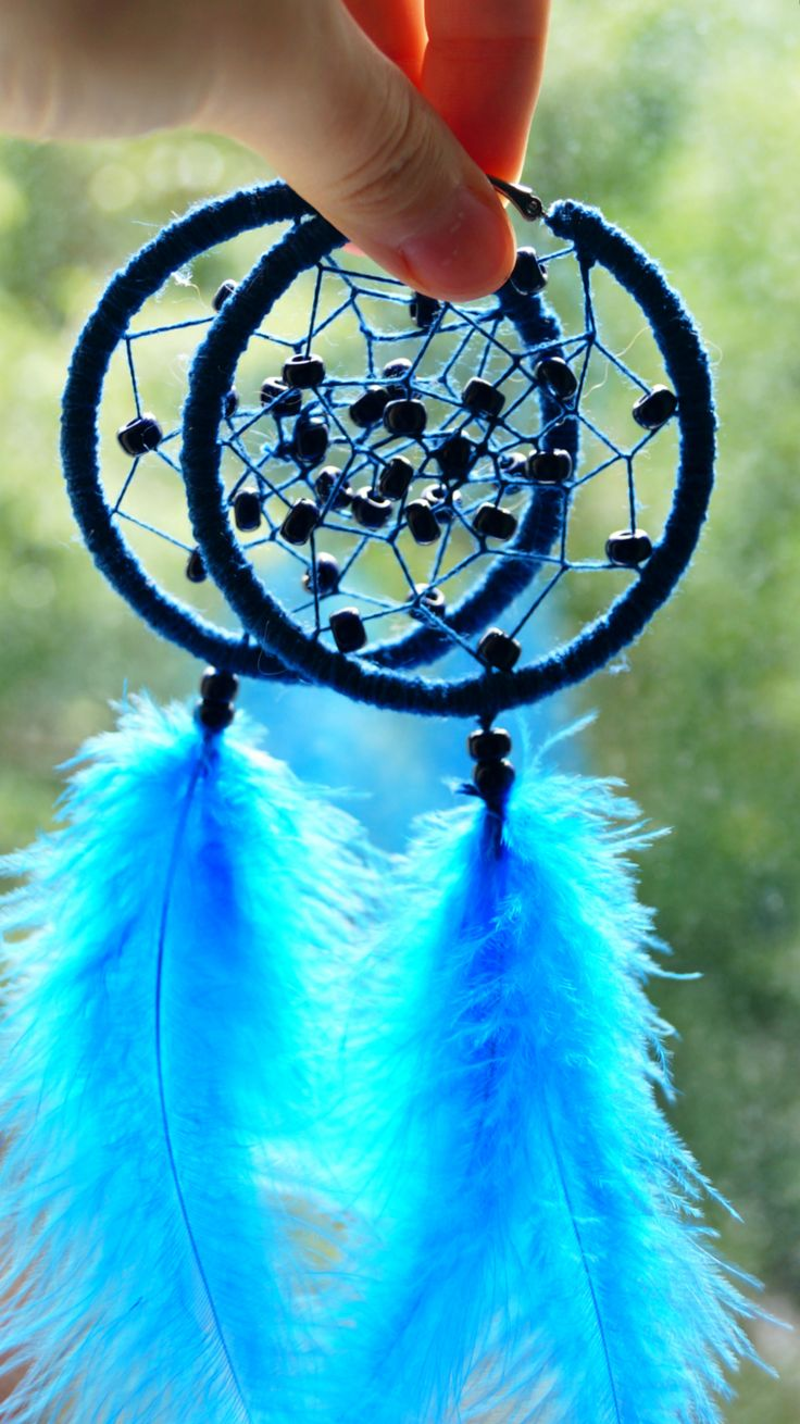 Simple Dream Catcher  earrings