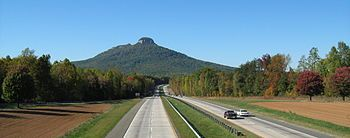Pilot Mountain (North Carolina) - Wikipedia, the free encyclopedia