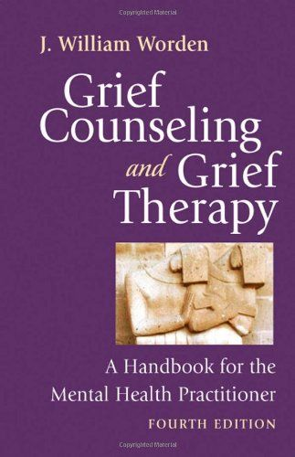 Grief Counseling and Grief Therapy, Fourth Edition: A Handbook for the Mental Health Practitioner by J. William Worden PhD  ABPP http://www.amazon.com/dp/0826101208/ref=cm_sw_r_pi_dp_8sGOub1AVZRRM