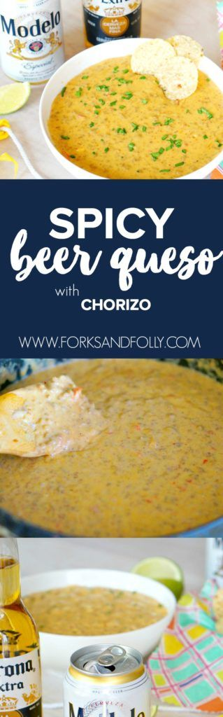 Whether it's Cinco de Mayo or getting together with friends, celebrate with this Spicy Beer Queso recipe. With spicy chorizo, creamy cheese and Modelo Especial, this... THIS it the appetizer you'll want to be serving all summer long!  #CervezaCelebration msg 4 21+ #ad
