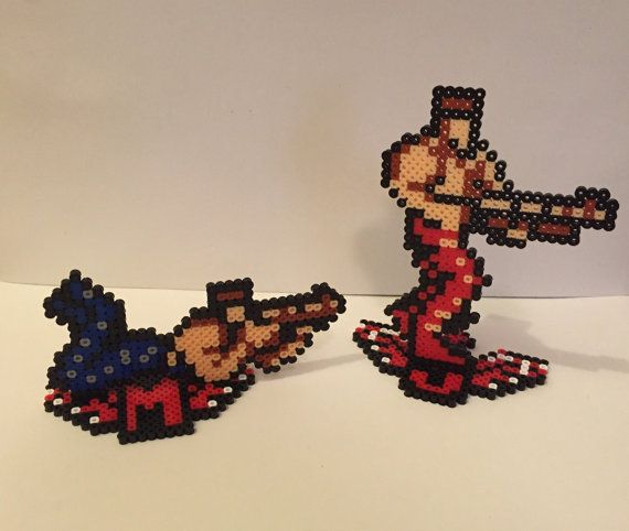 Hey, I found this really awesome Etsy listing at https://www.etsy.com/listing/220253110/contra-blue-red-perler-bead-sprites-bill