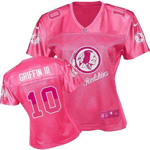 ... promo code womens nike washington redskins 10 robert griffin iii elite  pink 2012 fem fan jersey 59a4a6d3f