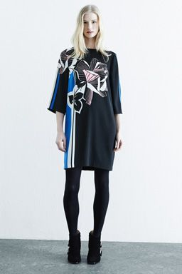 PLACEMENT FLORAL DRESS
