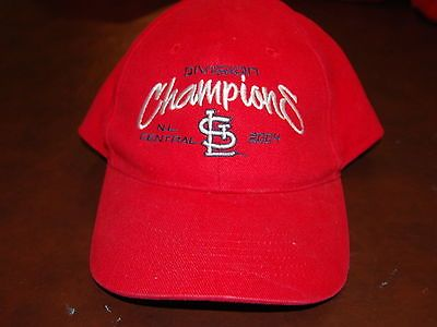 2004 St Louis Cardinals National League Central Division Champion Hat Never Worn