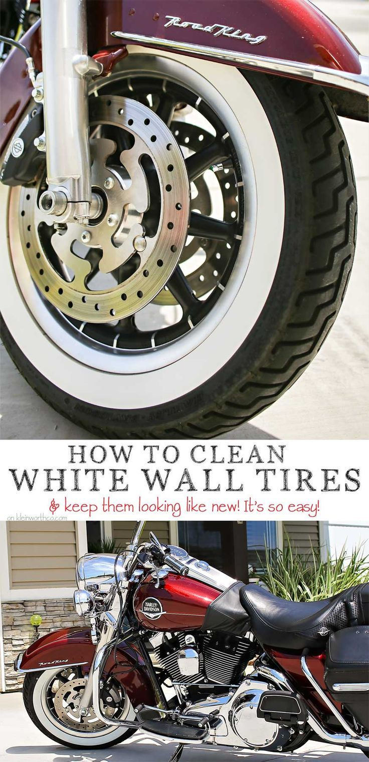 how to clean white wall tires on a car