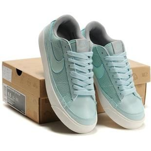 Nike Women Low Blazer Mid 09 Nd Shoes Light Green