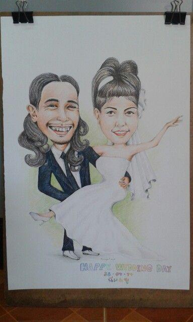 Cartoon wedding1_my job