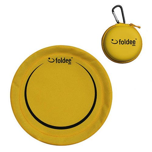 Yellow Folding Frisbee by Foldee