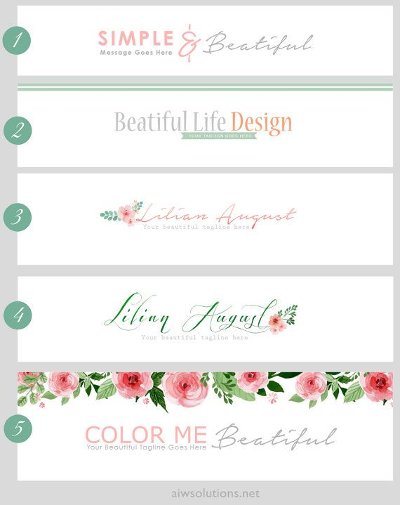 check out more headers at http://etsy.me/1D80kDR  - Choose the number of header template  - Size you would like your header to be (to fit the width