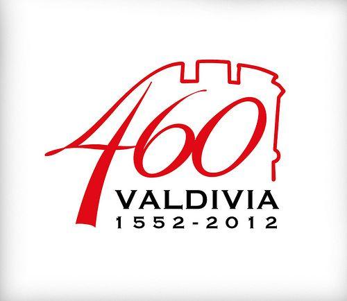 diseño logotipo 460 años de Valdivia