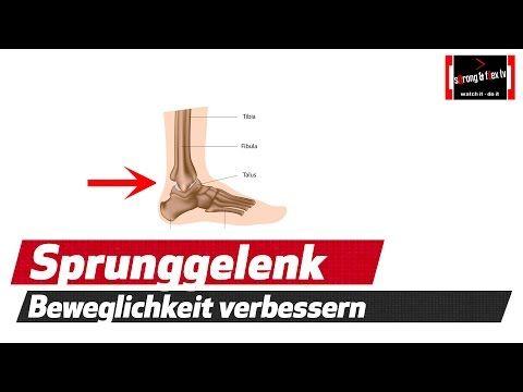 Dorsalflexion - Übungen für die optimale Kniebeugen Technik - YouTube