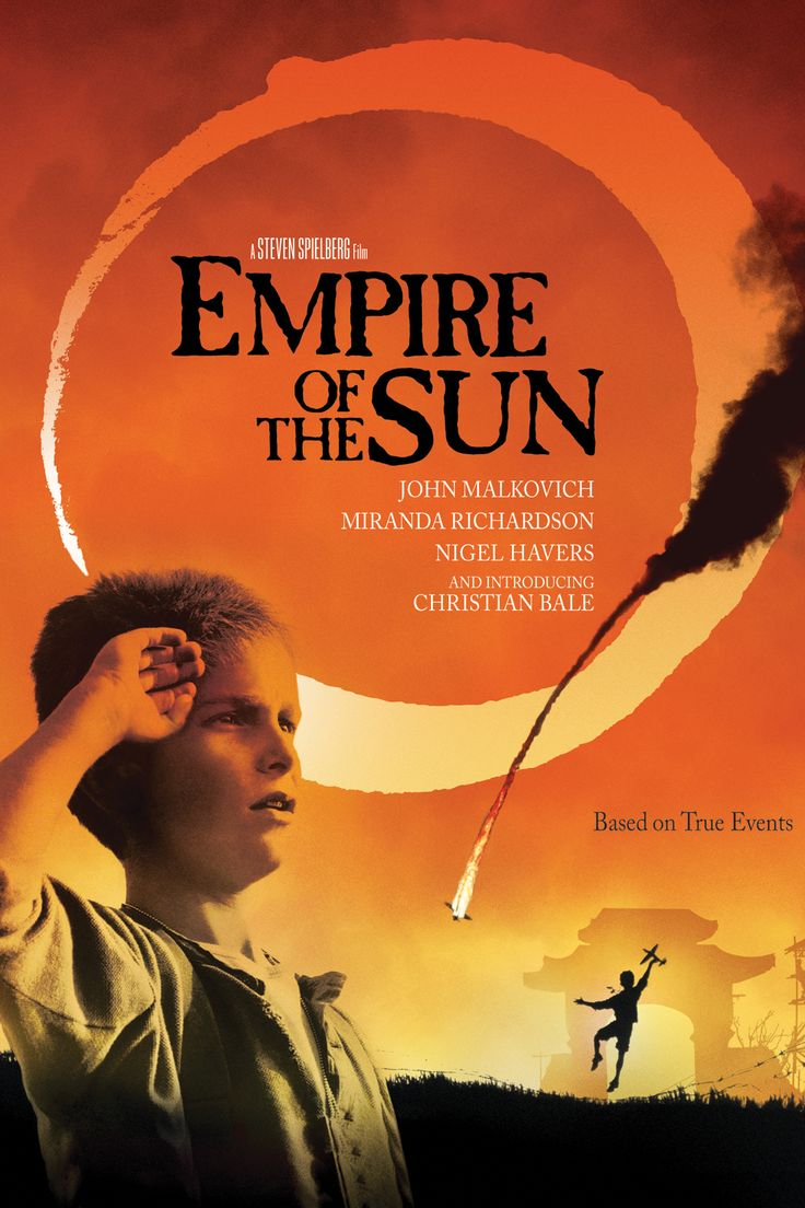 """the movie """"Empire of the Sun"""" with a young Christian Bale"""