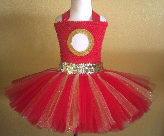 Iron man tutu dress