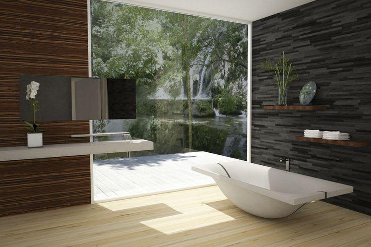 die besten 25 beton badewanne ideen auf pinterest beton waschbecken badezimmer wc sch ssel. Black Bedroom Furniture Sets. Home Design Ideas