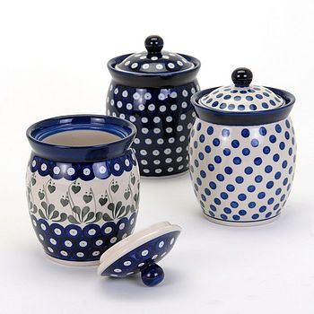 Handmade Storage Jars by Country Traditionals