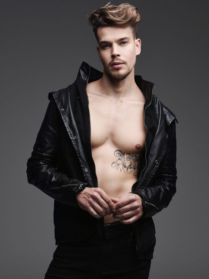 Way model Leo Possatti by Hudson Rennan!