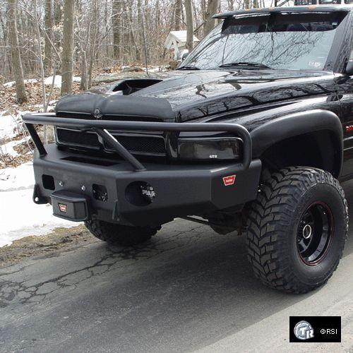 Trailready Dodge Ram 94-01 Front Winch Bumper w/ Grill Guard