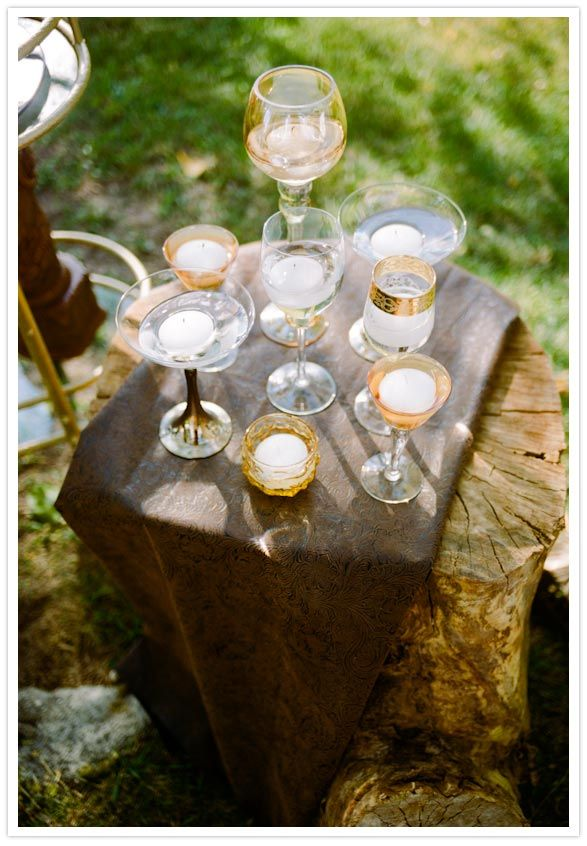 Rustic glam wedding inspiration | ph. Cassidy Brooke  | styling Ashley Nicole Events via 100LayerCake